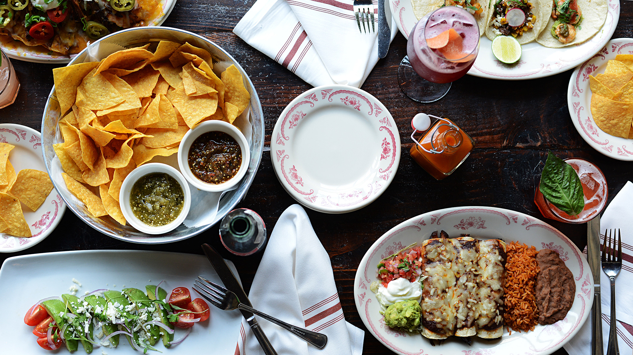 Top view table1 mexican restaurant santa rosa ca la palapa top view table1 forumfinder Gallery